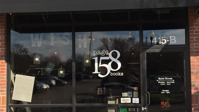 A Visit To Page 158 Books in Wake Forest, NC