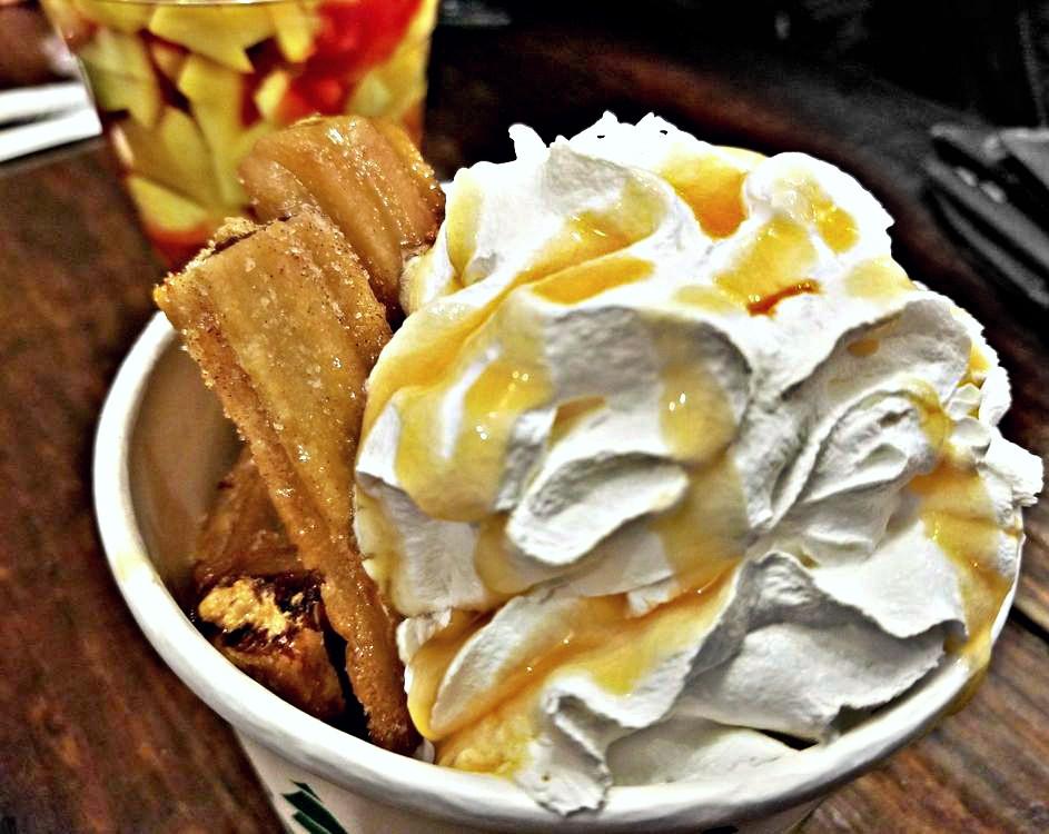 Enjoying An Ice Cream At Pincho Loco In Durham, NC