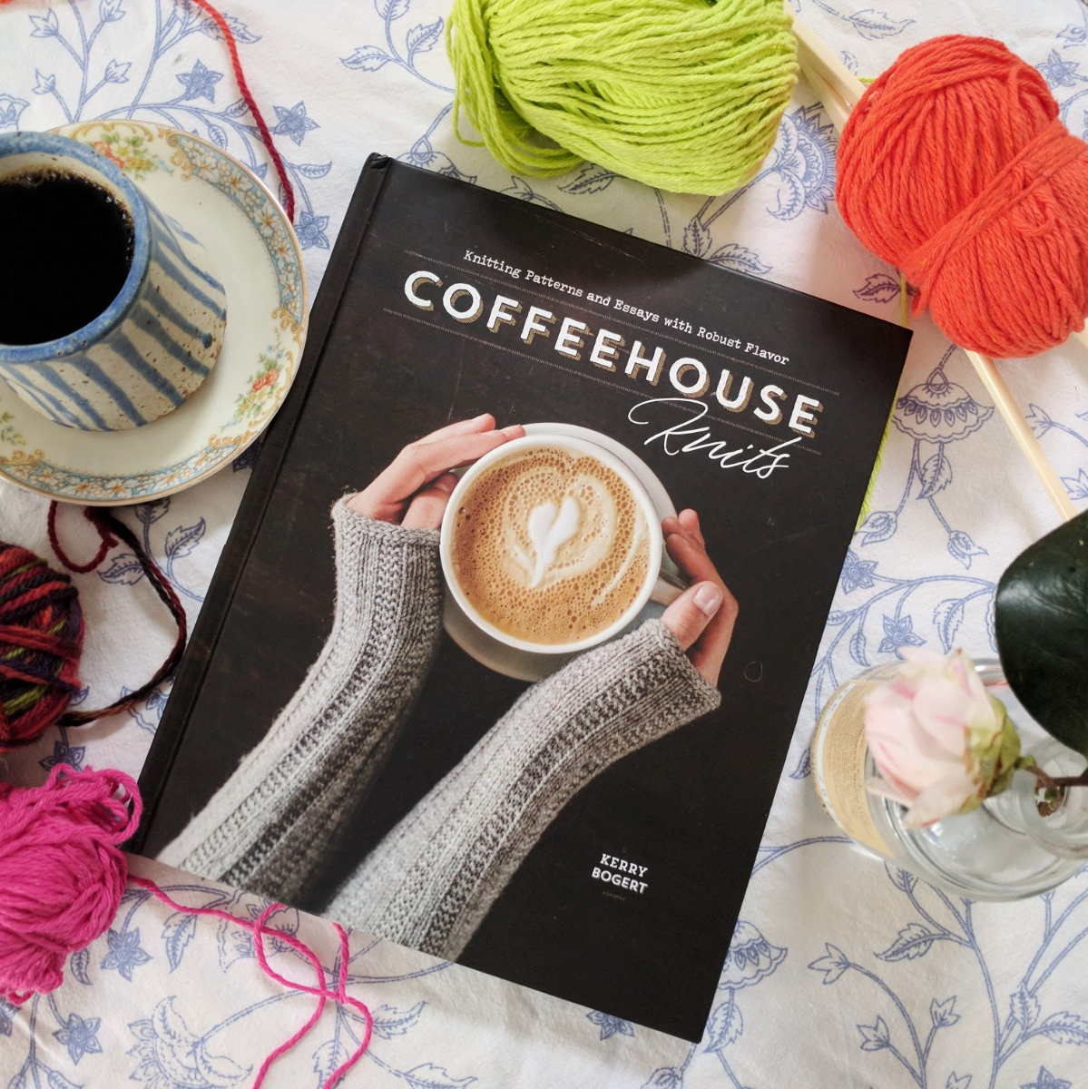 Book Review: Coffeehouse Knits by Kerry Bogert