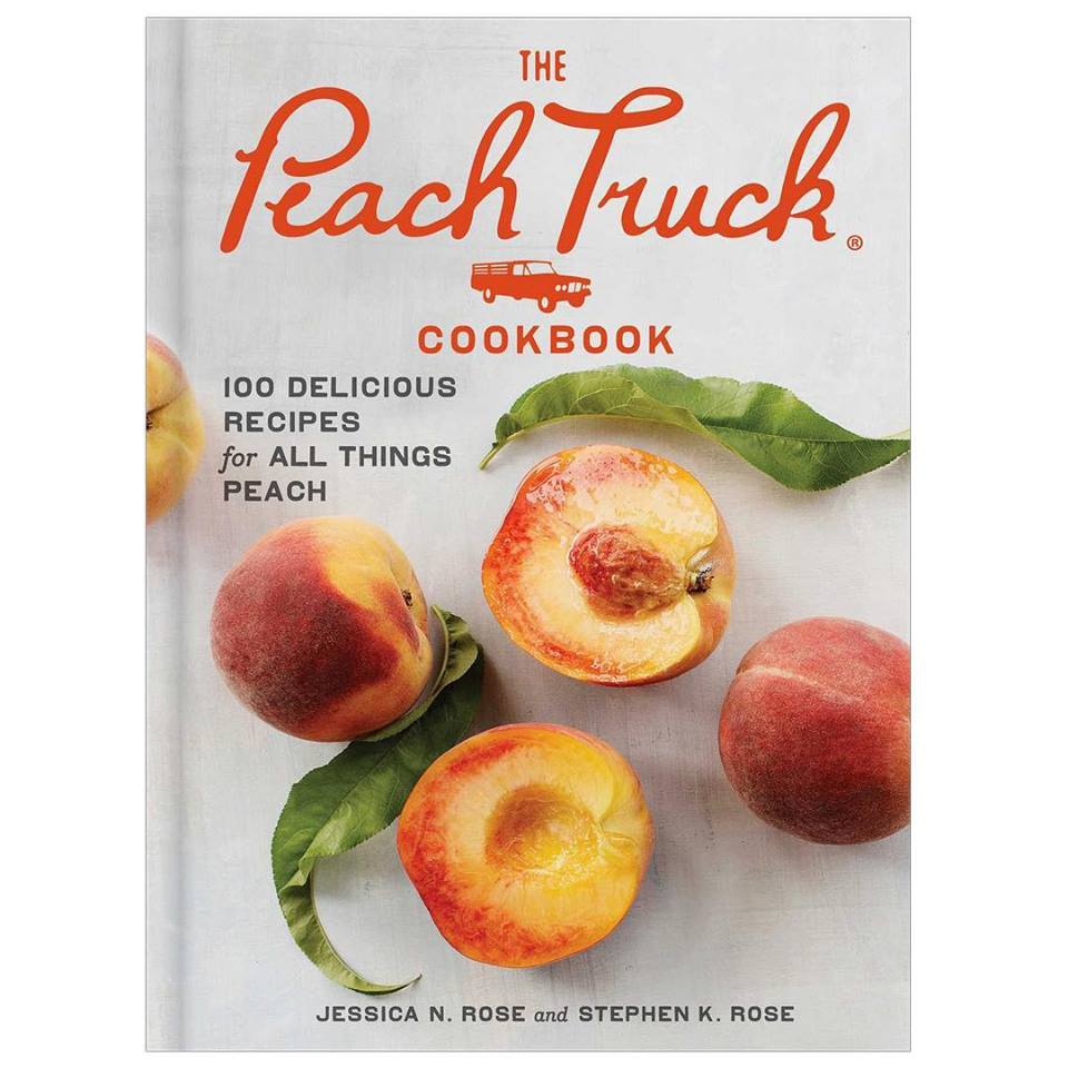 We're Reading The Peach Truck Cookbook by Jessica Rose and Stephen Rose