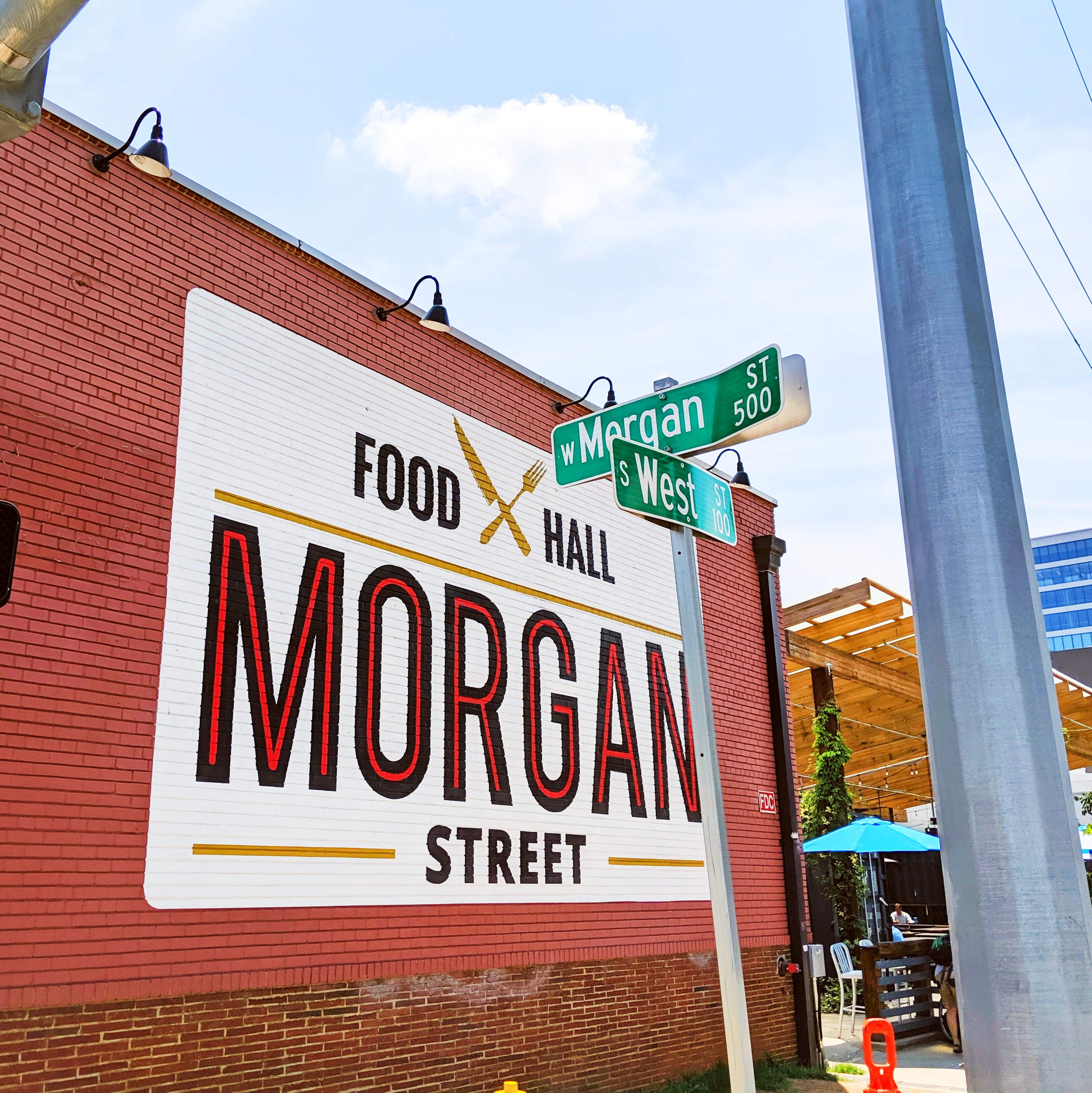 Chowing Down At Morgan Street Food Hall in Raleigh, NC