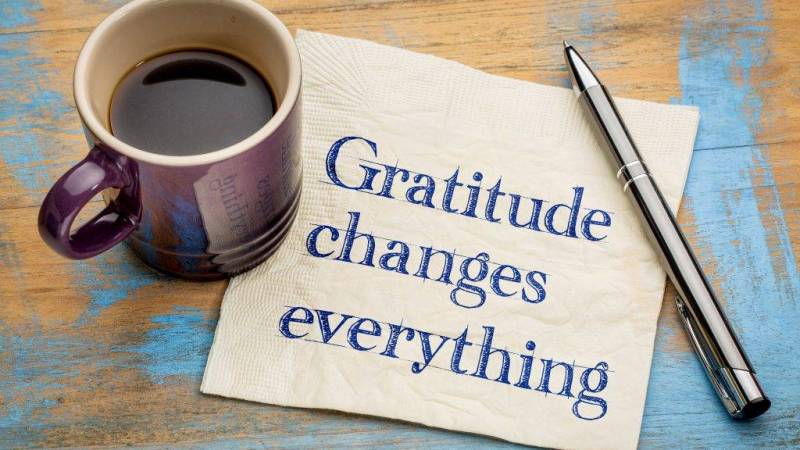 Gratitude Is Not Just For Thanksgiving