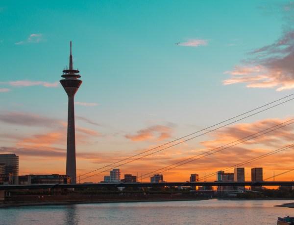 Düsseldorf Sunset