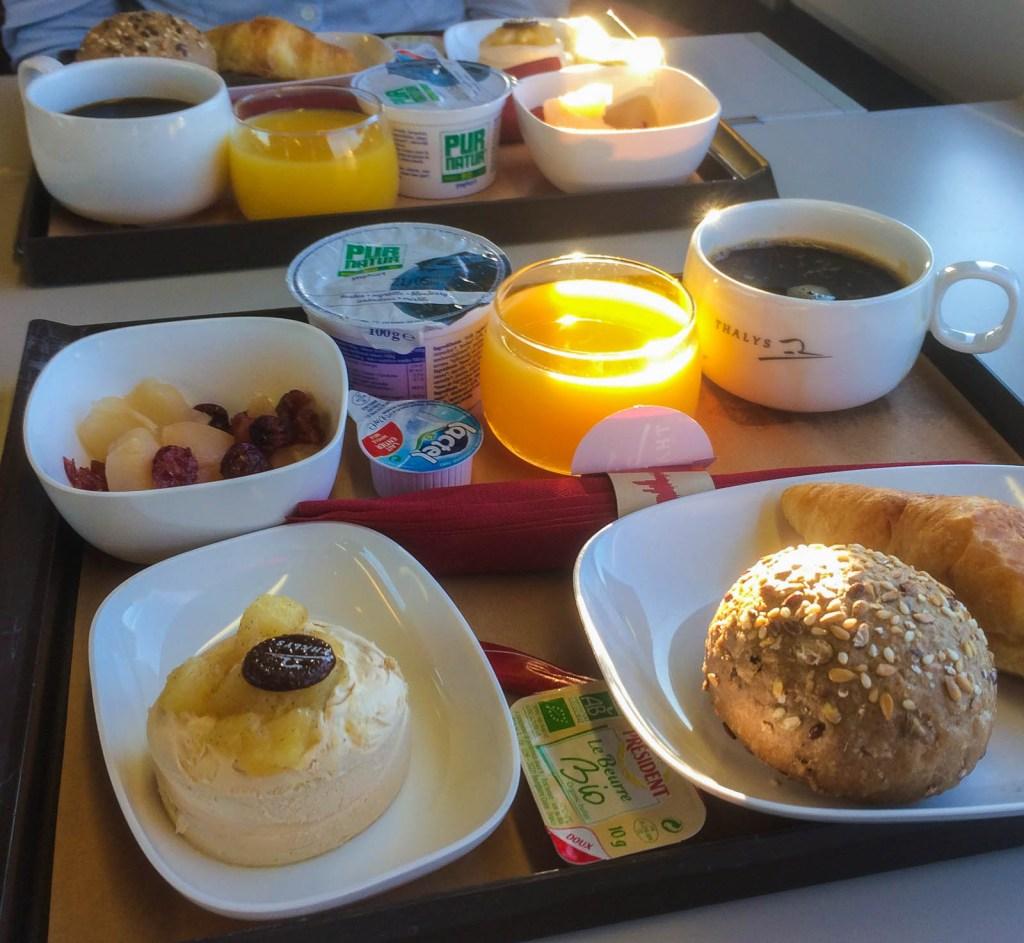 Thalys Breakfast