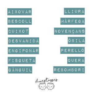 paraules valencianes