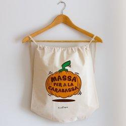mochila cuerdas massa per a la carabassa