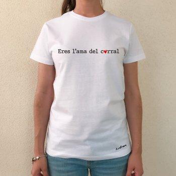 camiseta eres l'ama blanca