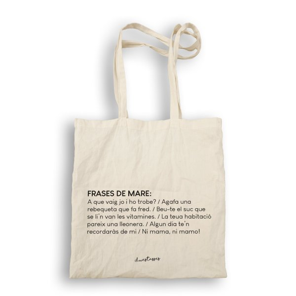 bossa de tela frases de mare