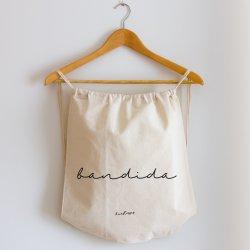 mochila de cuerdas bandida