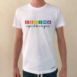 camiseta estima a qui et done la gana