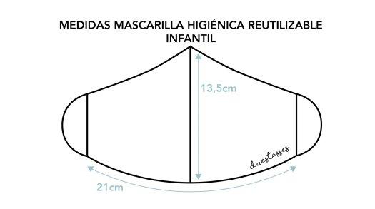 medidas-mascarilla-higienica-reutilizable-infantil-duestasses
