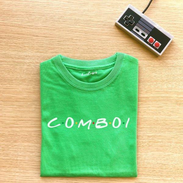 camiseta verde comboi