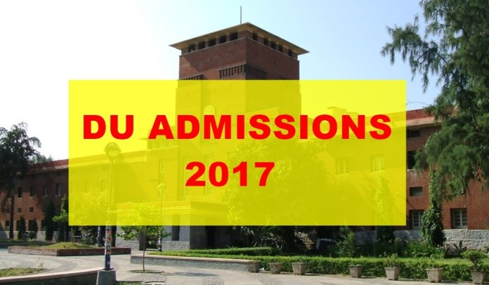DU Admissions 2017 : Process Going Slow,Might Be Delayed