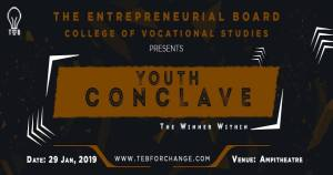 YOUTH CONCLAVE 2019 @ COLLEGE OF VOCATIONAL STUDIES