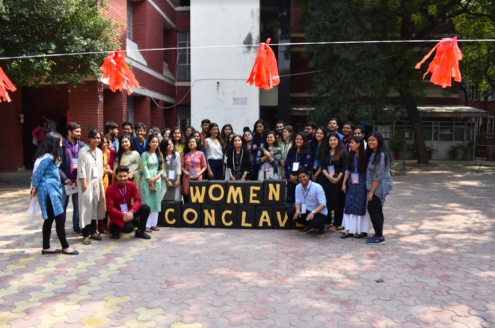 Kirori Mal Women Conclave'19 Successfully Organised By Sahas - The Women Empowerment Cell of NSS Kirori Mal College