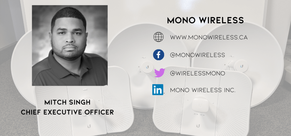 Mitch Singh - CEO of Mono Wireless