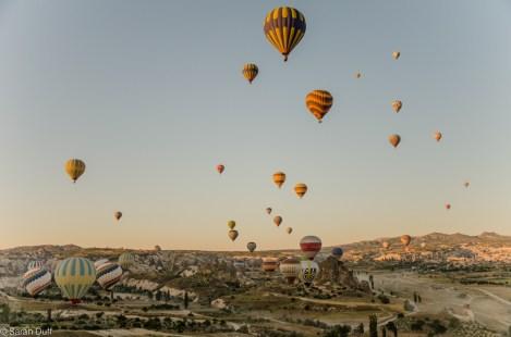 Hot air ballooning, Cappadocia, Turkey-2