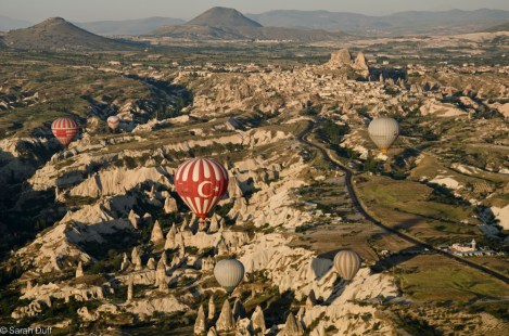 Hot air ballooning, Cappadocia, Turkey-4