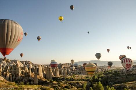 Hot air ballooning, Cappadocia, Turkey-7