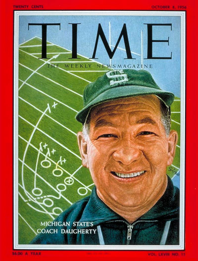 Time Magazine Cover - October 8, 1956