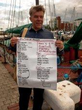 Jim Orwin Floating Line up