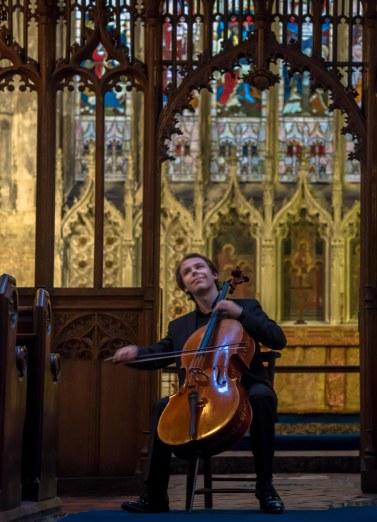 Thomas Bertolotti at St Mary's Church