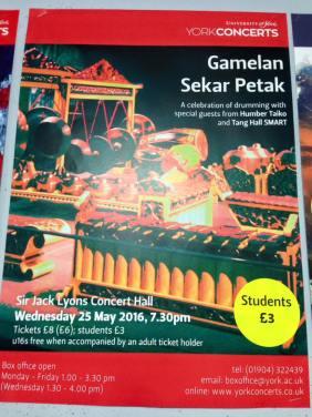 gamelan poster