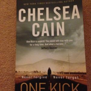 My holiday read will be… One Kick