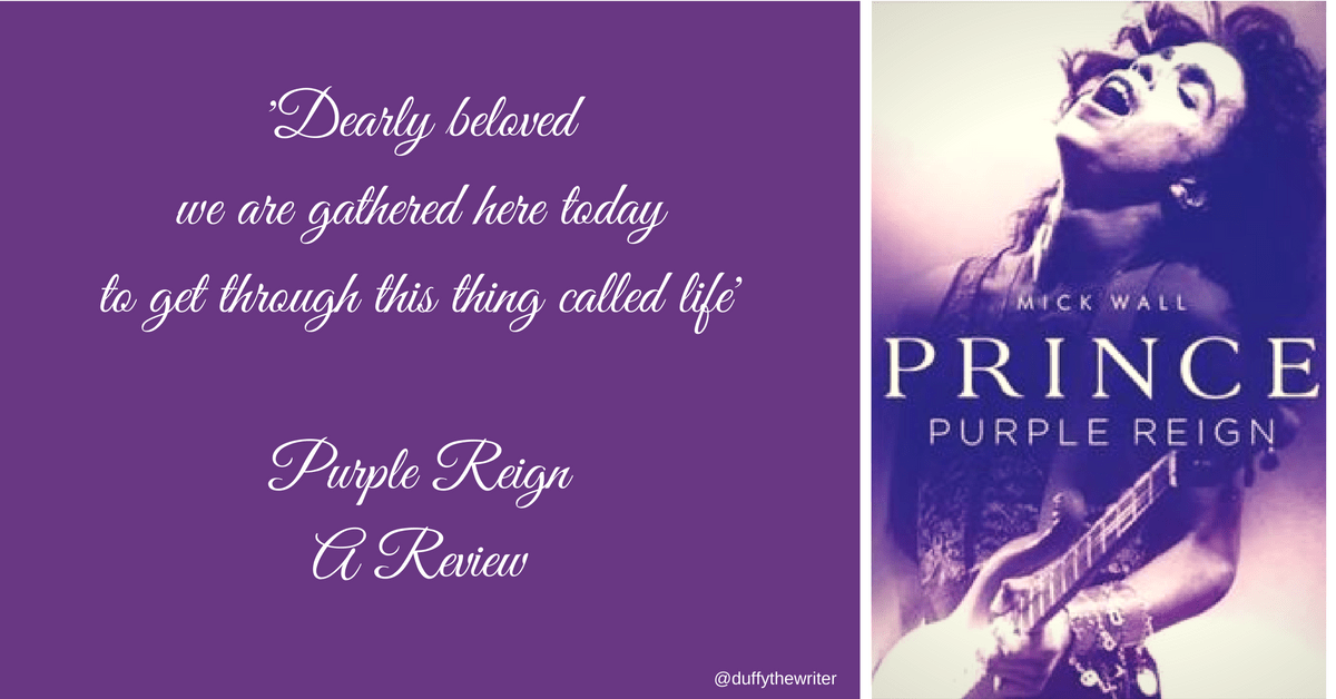 Dearly beloved we are gathered here today - Review of Purple Reign