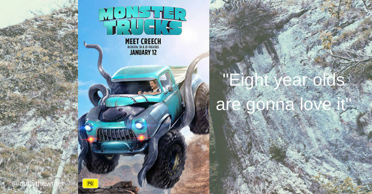 Monster Trucks Movie - Will It Be A Smash? (geddit?)