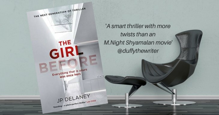 @duffythewriter book review The Girl Before
