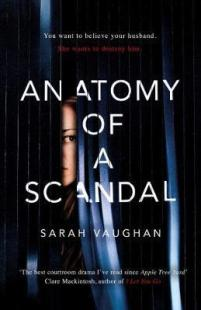 Anatomy of a scandal book cover