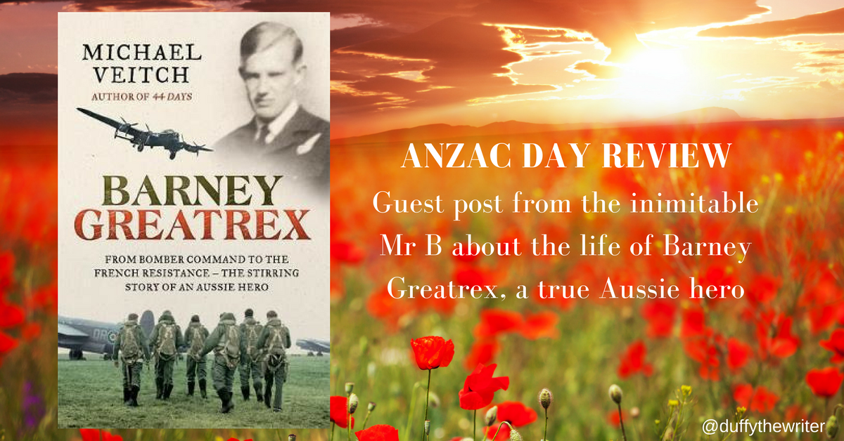 Book Review Barney Greatrex - Guest Post by Mr B!