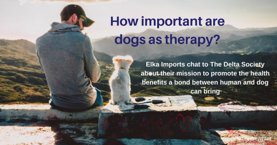 the delta society benefits of dogs as therapy