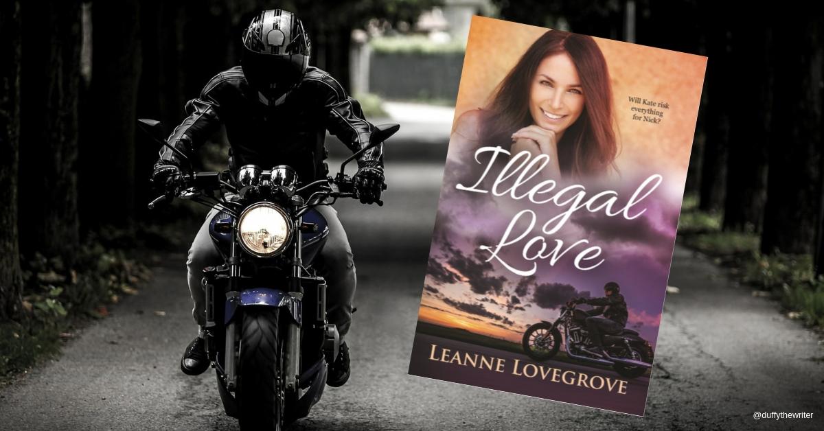 Illegal Love by Leanne Lovegrove. can Loe be found when a bikie gang is lurking in the shadows?