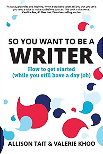 So You Want To Be A Writer? Book Review. A how to guide for any budding writer who just needs to start writing.