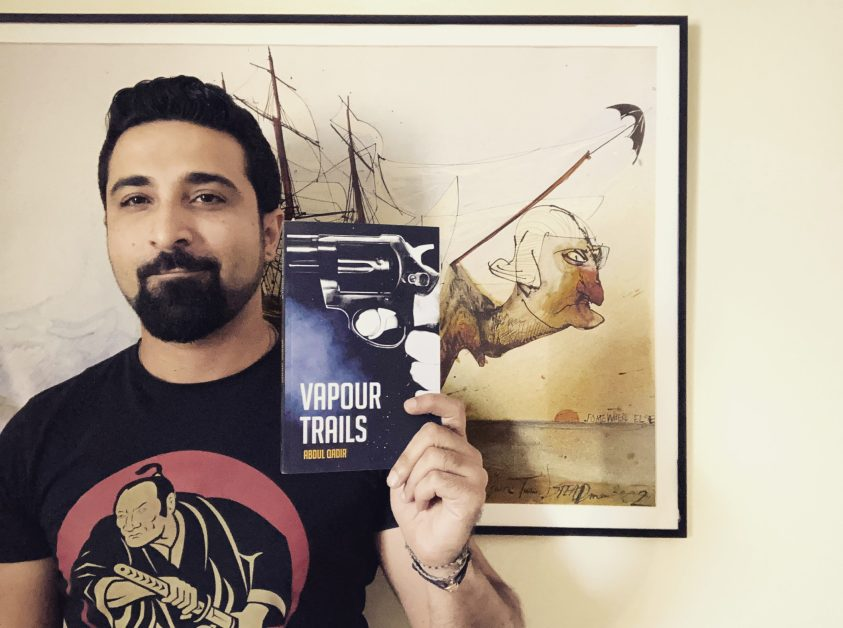 Author of Vapour Trails Abdul Qadir