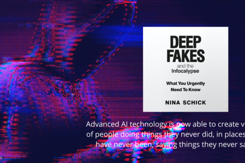Deep fakes and the infocalypse review by duffy the writer