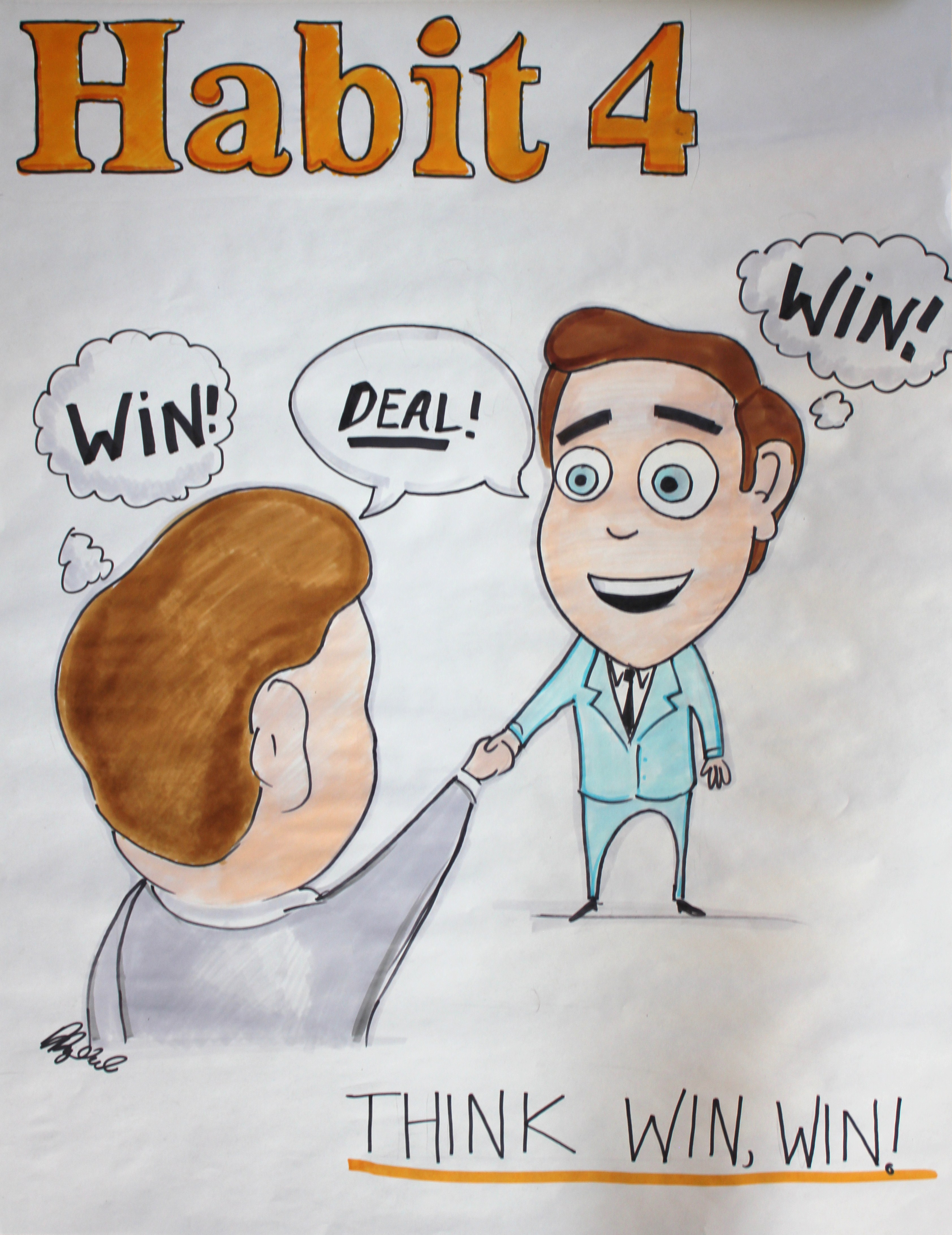 7 Habits Worksheet Habit 4