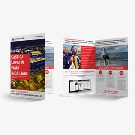 brosura papetarie dugheana de printuri publicitate agentie de publicitate romania tipar