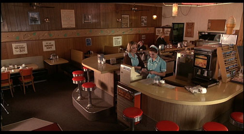 Twin Peaks Double RR Diner - Interior