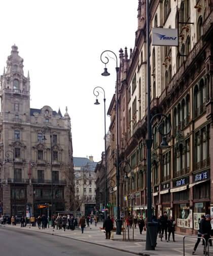 Budapest belváros - régi épületek