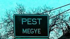 Pest megye - tábla jelzi