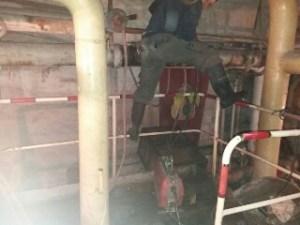 Duguláselhárítás pincében, alagsorban