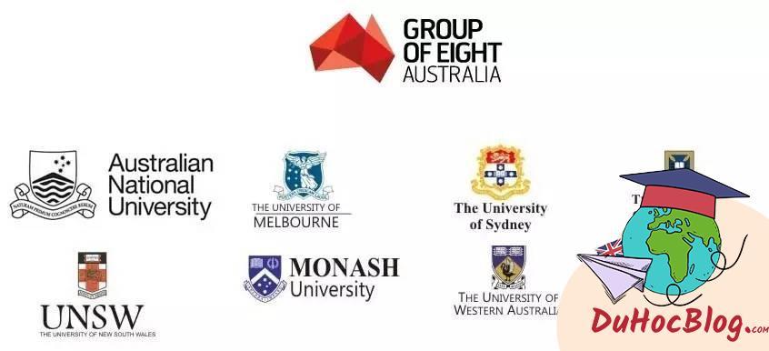 HỌC BỔNG TỪ CÁC TRƯỜNG GROUP OF EIGHT (Go8) AUSTRALIA