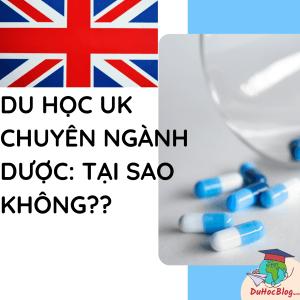 du học ngành dược UK