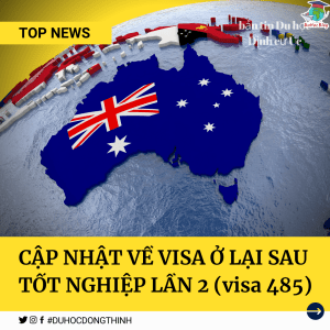 visa ở lại sau tốt nghiệp 485 lần 2
