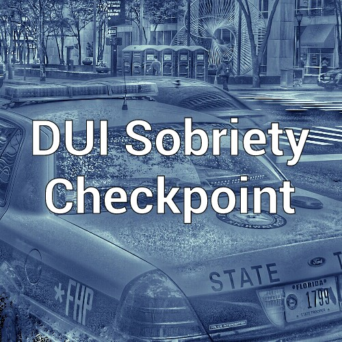 Clearwater Sobriety Checkpoint, Pinellas DUI Attorney, Pinellas DUI Checkpoint