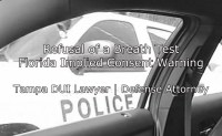 Refusal of a Breath Test