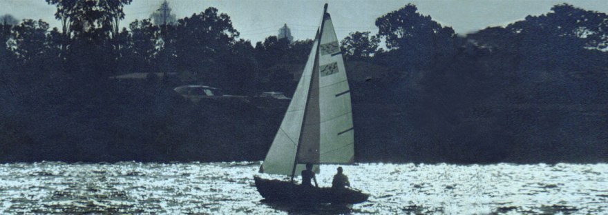 William F. Ebsary, Jr Sailing near Davis Island